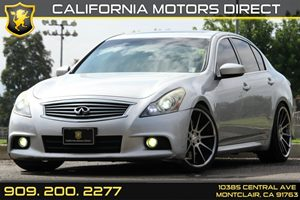 2011 Infiniti G37 Sedan Journey Carfax Report Audio  AmFm Stereo Audio  Cd Player Audio  Sa