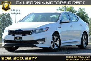 2013 Kia Optima Hybrid LX Carfax 1-Owner Audio  Auxiliary Audio Input Audio  Satellite Radio