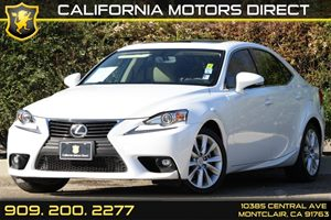 2015 Lexus IS 250  Carfax 1-Owner Audio  Auxiliary Audio Input Audio  Cd Player Audio  Satel