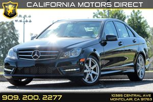 2014 MERCEDES C-Class Luxury Sedan Carfax 1-Owner - No AccidentsDamage Reported Audio  AmFm St