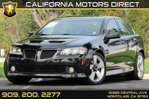 2009 Pontiac G8 GT Carfax 1-Owner - No AccidentsDamage Reported  Panther Black Metallic - -