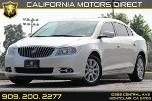 2013 Buick LaCrosse Leather Carfax Report - No AccidentsDamage Reported Brake Parking Electron