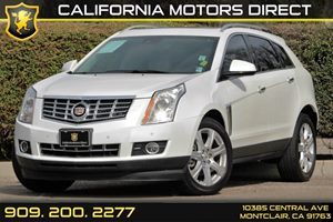 2014 Cadillac SRX Premium Collection Carfax 1-Owner Armrest Rear Center With Dual Cup Holders A