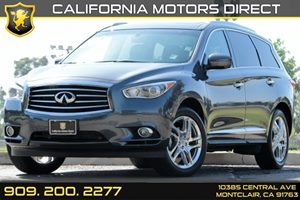 2013 Infiniti JX35  Carfax 1-Owner - No AccidentsDamage Reported Auto OnOff High Intensity Disc
