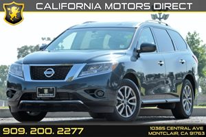 2015 Nissan Pathfinder S Carfax 1-Owner - No AccidentsDamage Reported Aero-Composite Halogen Hea