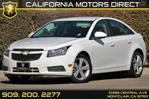 2014 Chevrolet Cruze 2LT Carfax 1-Owner - No AccidentsDamage Reported Assist Handles Driver Fr