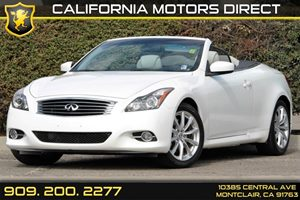 2013 Infiniti G37 Convertible Base Carfax 1-Owner - No AccidentsDamage Reported 3-Piece Auto-Ret