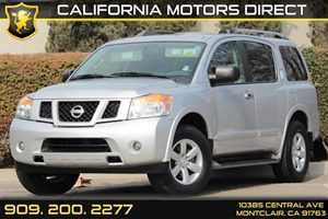 2015 Nissan Armada SV Carfax 1-Owner - No AccidentsDamage Reported Audio  Premium Sound System