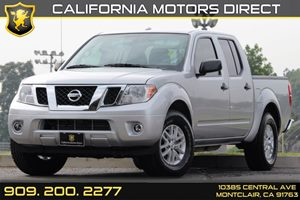 2016 Nissan Frontier SV Carfax 1-Owner 60-40 Folding Split-Bench Front Facing Fold-Up Cushion Rea