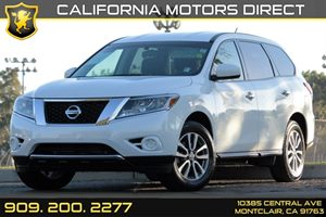 2013 Nissan Pathfinder S Carfax 1-Owner - No AccidentsDamage Reported 2Nd Row 6040 Fold-Flat Be