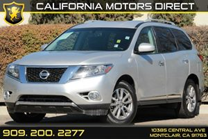 2013 Nissan Pathfinder SL Carfax 1-Owner 2Nd Row 6040 Fold-Flat Bench Seat WManual SlideReclin