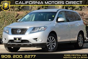 2014 Nissan Pathfinder S Carfax 1-Owner Aero-Composite Halogen Headlamps Audio  AmFm Stereo A