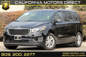 2015 Kia Sedona LX Carfax Report - No AccidentsDamage Reported Body-Colored Power Side Mirrors W
