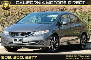 2013 Honda Civic Sdn EX Carfax 1-Owner Audio  AmFm Stereo Audio  Auxiliary Audio Input Auto