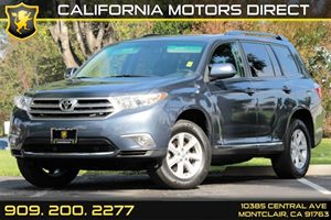 2013 Toyota Highlander SE Carfax 1-Owner - No AccidentsDamage Reported Convenience  Automatic H