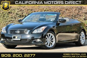 2013 Infiniti G37 Convertible Base Carfax 1-Owner - No AccidentsDamage Reported Audio  Satellit
