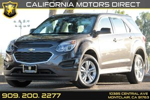 2016 Chevrolet Equinox LS Carfax 1-Owner - No AccidentsDamage Reported Audio  Auxiliary Audio I