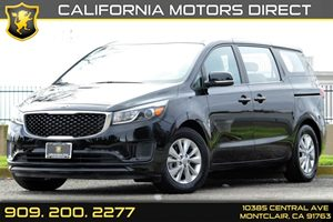 2015 Kia Sedona L Carfax 1-Owner - No AccidentsDamage Reported Audio  AmFm Stereo Audio  Aux