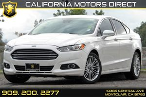 2015 Ford Fusion SE Carfax 1-Owner - No AccidentsDamage Reported Audio  Satellite Radio Conven