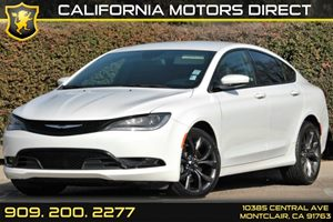 2015 Chrysler 200 S Carfax 1-Owner - No AccidentsDamage Reported Audio  Auxiliary Audio Input