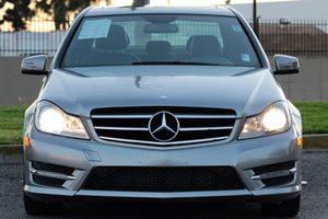 2014 MERCEDES C250 Luxury Sedan Carfax 1-Owner Audio  Auxiliary Audio Input Convenience  Autom