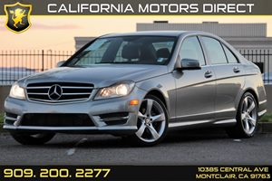 2014 MERCEDES C-Class Luxury Sedan Carfax 1-Owner Audio  Auxiliary Audio Input Convenience  Au
