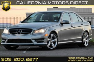 2014 MERCEDES C250 Luxury Sedan Carfax 1-Owner Audio  Auxiliary Audio Input Convenience  Autom