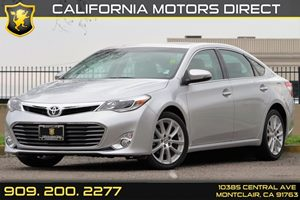 2013 Toyota Avalon XLE Touring Carfax 1-Owner - No AccidentsDamage Reported Audio  Auxiliary Au