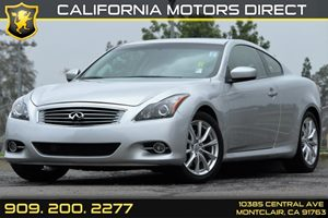 2014 Infiniti Q60 Coupe Journey Carfax 1-Owner - No AccidentsDamage Reported Audio  Auxiliary A