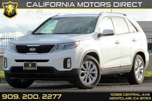 2014 Kia Sorento EX Carfax 1-Owner Compact Spare Tire Stored Underbody WCrankdown Deep Tinted G