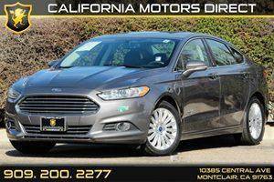 2014 Ford Fusion Energi SE Luxury Carfax 1-Owner Audio  Auxiliary Audio Input Audio  Satellite