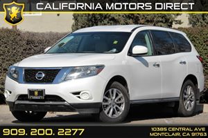 2013 Nissan Pathfinder S Carfax 1-Owner - No AccidentsDamage Reported 2Nd Row Latch And Glide Sy