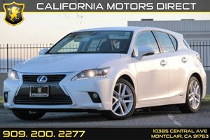 2014 Lexus CT 200h Hybrid Carfax 1-Owner - No AccidentsDamage Reported Audio  Auxiliary Audio I
