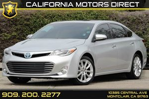 2013 Toyota Avalon Hybrid XLE Touring Carfax 1-Owner - No AccidentsDamage Reported Acoustic Nois
