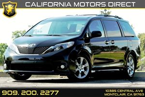2013 Toyota Sienna SE Carfax 1-Owner - No AccidentsDamage Reported Audio  Auxiliary Audio Input