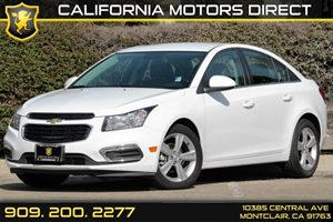 2015 Chevrolet Cruze LT Carfax 1-Owner Audio  Cd Player Audio  Satellite Radio Center Stack