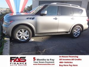 2011 Infiniti QX56 8-passenger Carfax Report - No Accidents  Damage Reported to CARFAX  Black