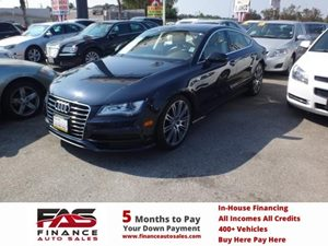 2012 Audi A7 30 Prestige Carfax 1-Owner - No Accidents  Damage Reported to CARFAX  Brilliant