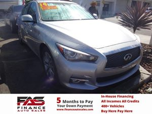 2014 Infiniti Q50  Carfax 1-Owner - No Accidents  Damage Reported to CARFAX  Black Obsidian