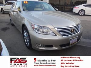 2011 Lexus LS 460  Carfax Report - No Accidents  Damage Reported to CARFAX  Gold  NOTICE