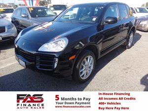 2010 Porsche Cayenne S Carfax 1-Owner - No Accidents  Damage Reported to CARFAX  Black  Rates