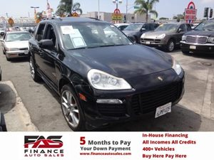 2009 Porsche Cayenne GTS Carfax Report - No Accidents  Damage Reported to CARFAX  Basalt Black