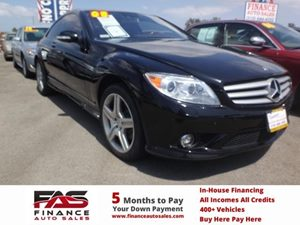 2008 MERCEDES CL550 Coupe Carfax Report - No Accidents  Damage Reported to CARFAX  Black  NOT
