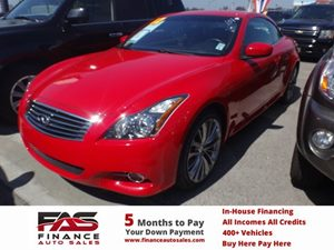2012 Infiniti G37 Convertible Base Carfax 1-Owner - No Accidents  Damage Reported to CARFAX 6 Cy
