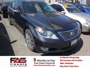 2011 Lexus LS 460  Carfax Report - No Accidents  Damage Reported to CARFAX  Deep Sea Mica  NO