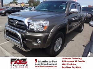 2010 Toyota Tacoma PreRunner Carfax Report - No Accidents  Damage Reported to CARFAX  Gold  N