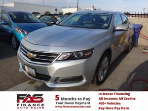 2015 Chevrolet Impala LT Carfax 1-Owner - No Accidents  Damage Reported to CARFAX  Champagne S