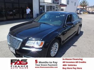 2014 Chrysler 300  Carfax 1-Owner - No Accidents  Damage Reported to CARFAX  Gloss Black  NOT