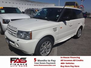 2008 Land Rover Range Rover Sport HSE Carfax Report - No Accidents  Damage Reported to CARFAX