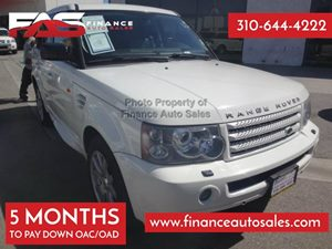 2008 Land Rover Range Rover Sport HSE Carfax Report - No Accidents  Damage Reported to CARFAX 3-